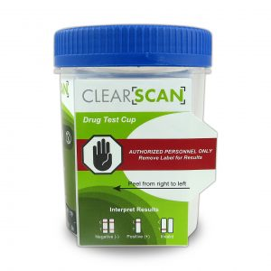 ClearScan Drug Test Cup
